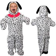 DALMATIAN PRINT CHILDS DOG JUMPSUIT BOOK FILM CHARACTER ANIMAL COSTUME
