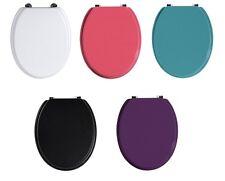 TAZZE WC in 5 colori diversi, ideale per la corrispondenza al tuo bagno decorazione