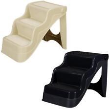 EASY STEP TREPPE Hundetreppe Tiertreppe für Hunde + Katzen beige oder schwarz