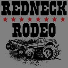 Redneck Rodeo 4x4 Off Road Trucks Funny T-Shirt Tee