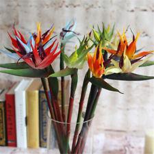 Large Artificial Bird Of Paradise Flowers Strelitzia Wedding Home Decor 60cm New