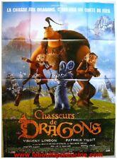 CHASSEURS DE DRAGONS Movie Poster / Affiche Cinéma