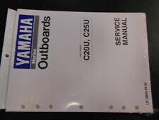 New Yamaha C20U C25U OMC Shop Tech Service Manual Technician Owners Repair Book
