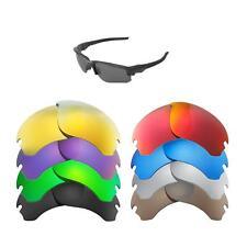 Walleva Replacement Lenses for Oakley Flak Draft Sunglasses - Multiple Options