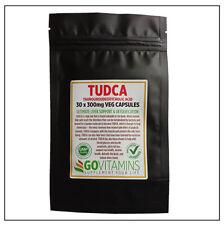 BEST SELLING TUDCA 300mg VEG CAPSULES or PURE POWDER - Tauroursodeoxycholic Acid