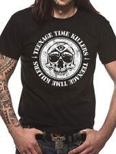 T-SHIRT TEENAGE TIME KILLERS MAGLIA ROCK BAND TSHIRT OFFICIAL MUSIC ORIGINALE