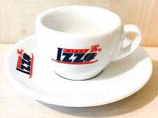 Izzo Espresso Tassen, Espressotasse weiß mit Unterasse
