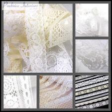 Antik Spitze Vintage Borte Weiß Multifunktionsleiste Trim Hochzeit Braut Nähen