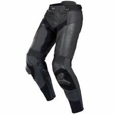Spidi RR PRO Pantalon cuir moto sport Pantalon imperméable - Noir/Noir
