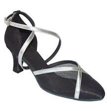 Señoras Baile Latino Zapatos línea Salsa Ballroom Uk 3 - 8