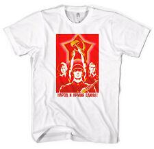 L'unité soviétique russe la propagande communiste unisexe t-shirt toutes les tailles