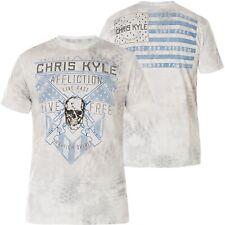 AFFLICTION T-Shirt CK Coordinates Weiß T-Shirts