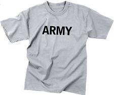 Kids Grey Army Physical Training T-Shirt
