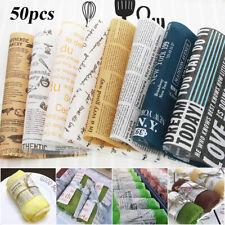 Food Grade Waterproof Sandwich Bread Oil-paper Grease-proof Wrappers Wax Paper