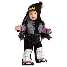 KISS The Demon Baby Costume Gene Simmons 70s Rock Star Halloween Fancy Dress