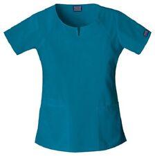 Cherokee Workwear Scrub Short Sleeve Round Neck 4824 CARW Caribbea Free Shipping