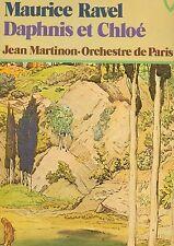 """Maurice ravel Daphnis et Chloe Jean Martinon Orchestre de paris 12"""" LP (l8458)"""