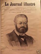 LE JOURNAL ILLUSTRE 1879 N 6 MONSIEUR HEROLD, SENATEUR
