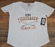 Star Wars Her Universe Jedi Lightsaber Training Sexy Neck line T-Shirt Tee