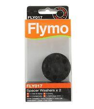 Flymo Lame hauteur rondelles cales d'espacement FLY017 FL182 Pack de 2 véritable