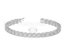5.00 carat Round Brilliant Cut Diamonds Tennis Bracelet Available in Platinum