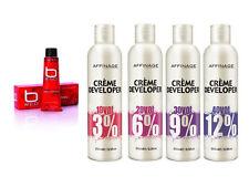 AFFINAGE B ROJO Color permanente cabello rojo+250ML Desarrollador/Peróxido -3% 6