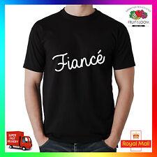 Fiancé drôle parody t-shirt tee tshirt cool mignon nouvelle mariée mariage mariée marié