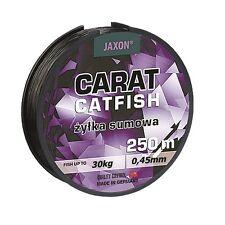 Angelschnur JAXON CARAT CATFISH Welsschnur monofile 250m Spule 0,45/0,50/0,55mm