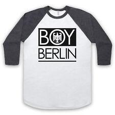 BOY BERLIN GERMAN EAGLE FUNNY HIPSTER LONDON PARODY UNISEX 3/4 BASEBALL TEE