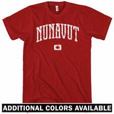 Nunavut Canada T-shirt - Men S-4X - Gift Iqaluit Inuit Nunavy Nunavummiut Arctic