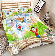Doraemon Collection 3D Printing Duvet Quilt Doona Covers Pillow Case Bedding Set