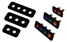 Aluminio switch/light Panel - 12v Luz de advertencia Panel-Motorsport Auto Rally