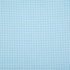 100% Cotton Fabric Check Gingham BLUE Rose & Hubble Material Metre Fat Quarter