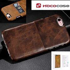 For iPhone 6 6s plus Genuine Retro Leather Back Case Cover Hoco Platinum Series
