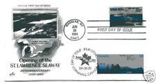 2091 St. Lawrence Seaway/Canada ArtCraft dual FDC