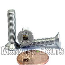 5mm / M5 x 0.8 - DIN 7991 Stainless Steel FLAT HEAD Socket Screws Countersunk A2