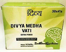 Bulk Divya Medha Vati Extra Power Patanjali Ramdev Ayurvedic 120 Tablets 92g
