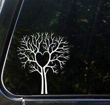 "CAR - Tree Heart - Vinyl Car Decal Sticker - ©YYDCo. (5.5""w x 6.5""h)"