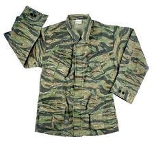 VIETNAM STYLE BDU Shirt Tiger Stripes PREWASH 100% Cotton XS,S,M,L,XL,2X,3X