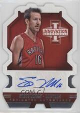 2013 Panini Innovation Top-Notch Autographs #42 Steve Novak Toronto Raptors Auto