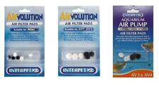 Interpet AirVolution Spare Filter Pad Mini 1 2 3 4 Aquarium Air Pump AV