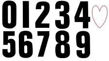 Wheelie Bin Stickers Numbers Black Home Garden