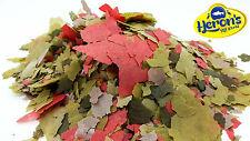 HERONS Malawi Flakes Spirulina Algae TROPICAL FISH FOOD Cichlid Mbuna Vegetable