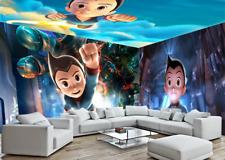 3D Astro Boy 4 Photo Papier Peint en Autocollant Murale Plafond Chambre Art