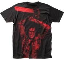 Evil Dead Ii Ash Williams Bruce Campbell Subway Big Print Tee Shirt Subed201