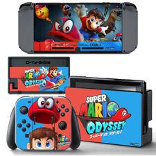 Ci-Yu-Online [NS] Super Mario Odyssey VINYL SKIN STICKER DECAL Nintendo Switch