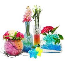 10 Tüten Aqualinos Wasserperlen Blumen Event Deko Party Hochzeit Geburtstag