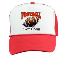 c997e5df4d7 Trucker Hat Cap Foam Mesh Sports Football Spike Play Hard