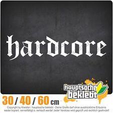 Hardcore chf0162 in 3 dimensioni JDM lunotto adesivo