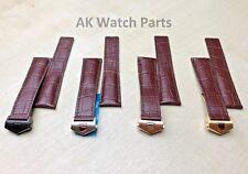 22mm/20mm Genuine Leather Strap For Tag Heuer Monaco Carrera Alligator/Crocodile